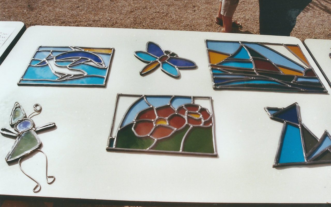 students stained glass Grasse