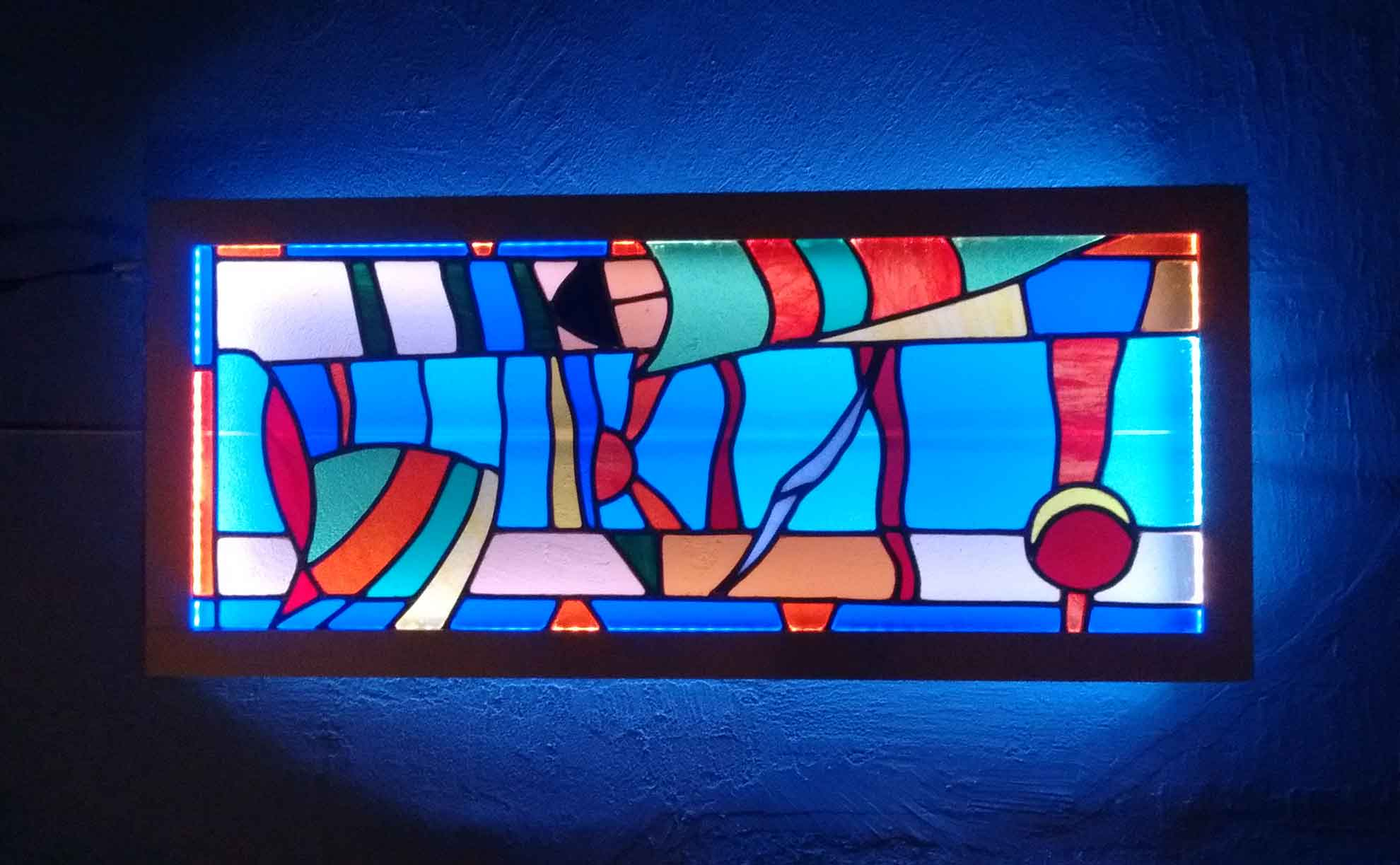 stained glass creation